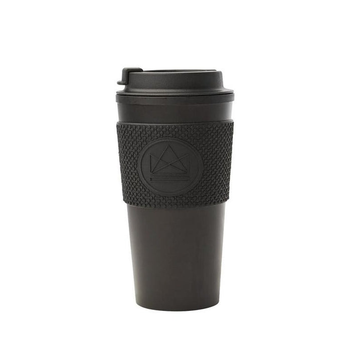 Neon Kactus Double Walled Coffee Cup - Black - Life Before Plastik
