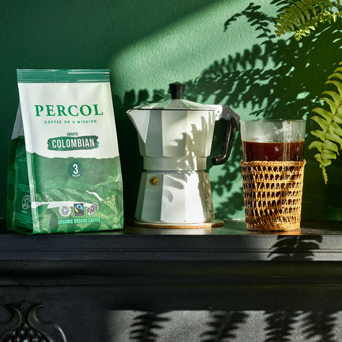 Percol Smooth Colombian Ground Coffee - Life Before Plastik