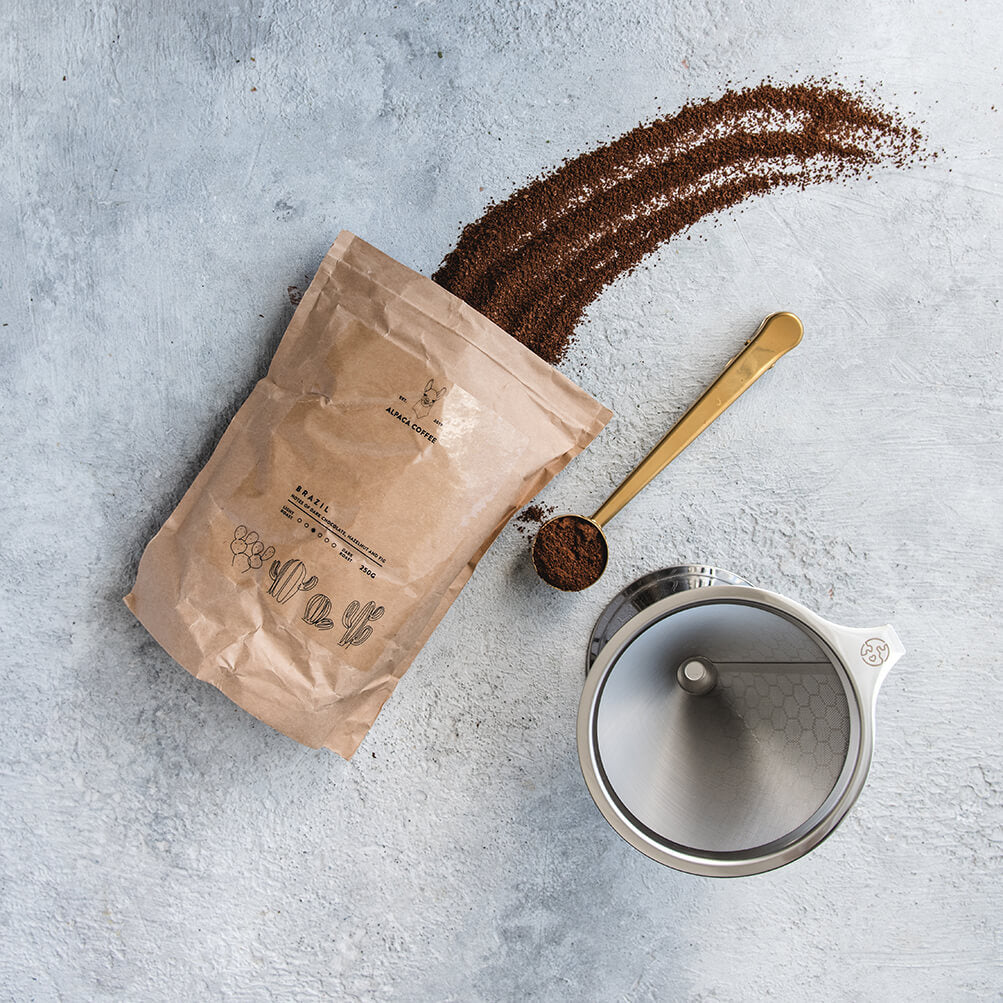 Alpaca Coffee Gift Set - Life Before Plastik