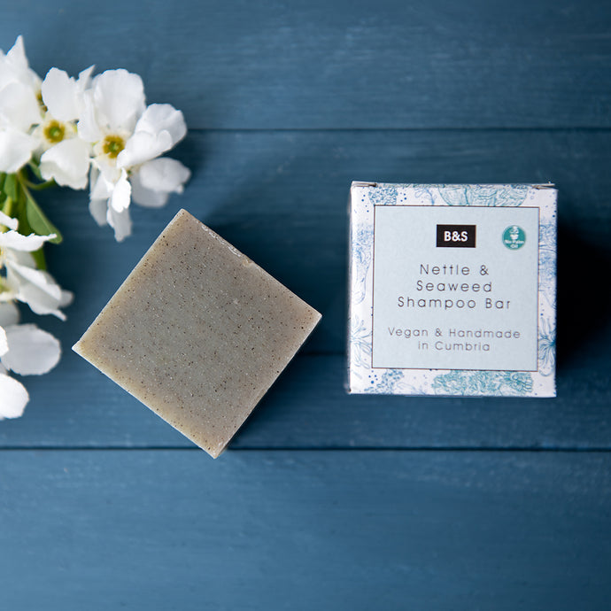 Nettle & Seaweed Shampoo Bar - Life Before Plastik