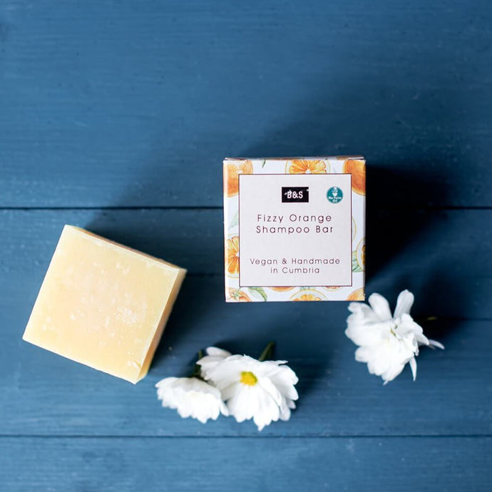 Fizzy Orange Shampoo Bar - Bain & Savon - Life Before Plastik