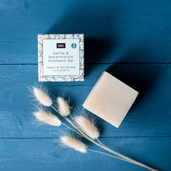 Nettle & Marshmallow Shampoo Bar - Bain & Savon - Life Before Plastik