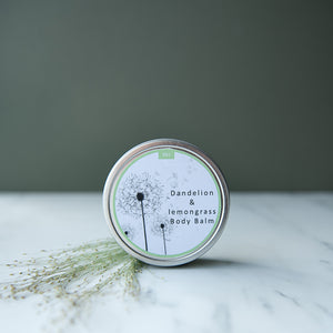 Dandelion & Lemongrass Body Balm - Life Before Plastik