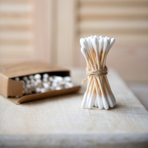 Bamboo Cotton Buds (x100)