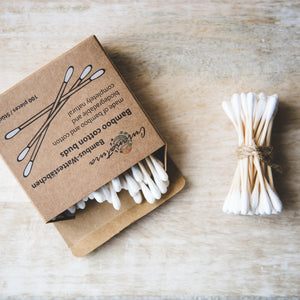 Bamboo Cotton Buds (x100) - Life Before Plastik