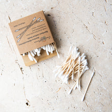 Load image into Gallery viewer, Bamboo Cotton Buds (x100) - Life Before Plastik
