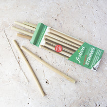 Load image into Gallery viewer, Bamboo Straws (6 pack) - Life Before Plastik