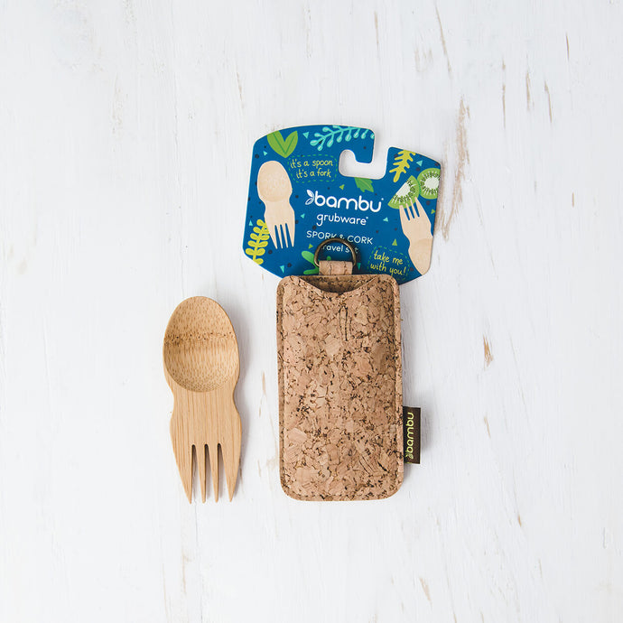 Spork & Cork Travel Set - Life Before Plastik