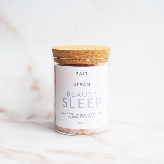 Salt & Steam Bath Salts - Beauty Sleep - Life Before Plastik