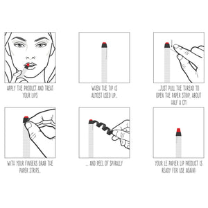 Matte Lipstick - Classy Red - Life Before Plastik