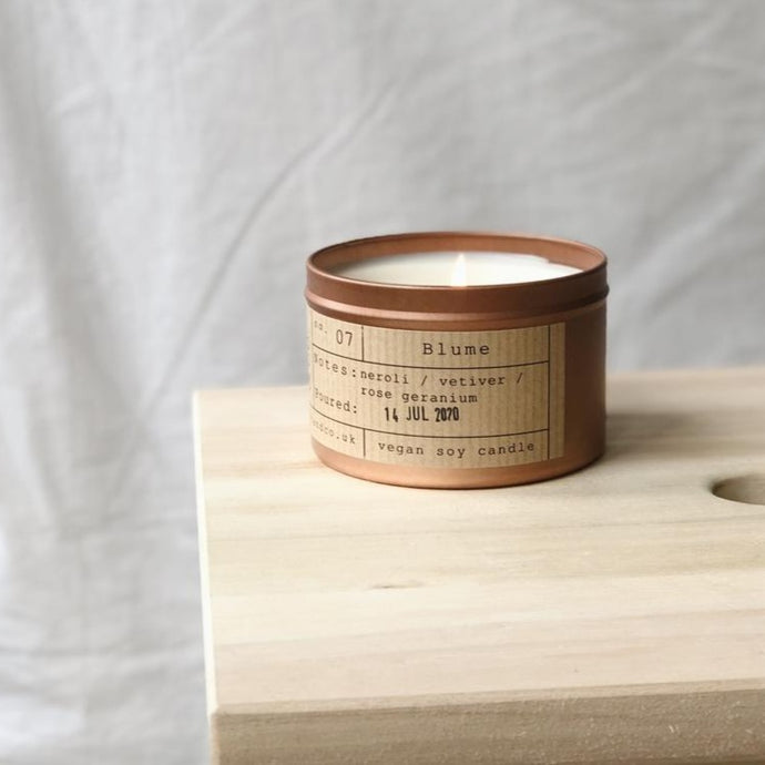 Blume Soy Wax Candle - 35h - Life Before Plastik
