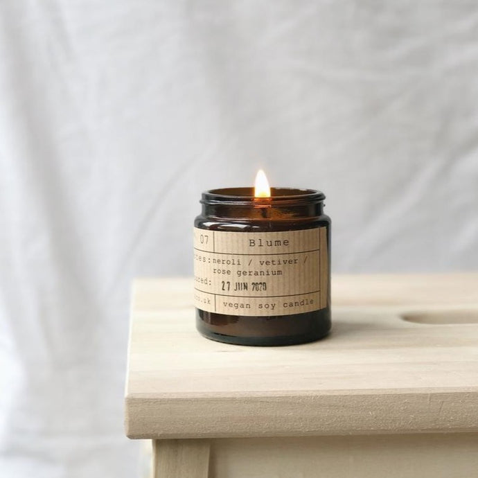 Blume Soy Wax Candle - 20h - Life Before Plastik