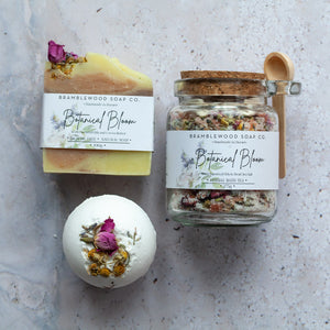 Bramblewood Soap Co - Botanical Bloom Gift Box - Life Before Plastik