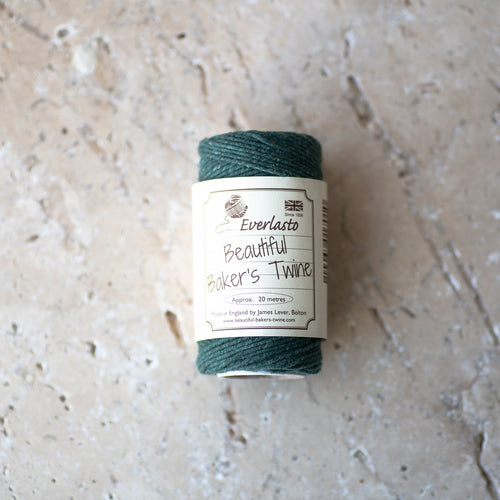 20m Cotton Twine - Moss Green