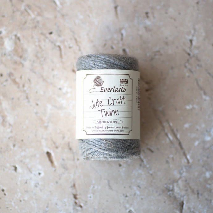 20m Cotton Twine - Silver - Life Before Plastik