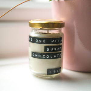 The One With Burnt Chocolate - Soy Wax Candle (150ml)