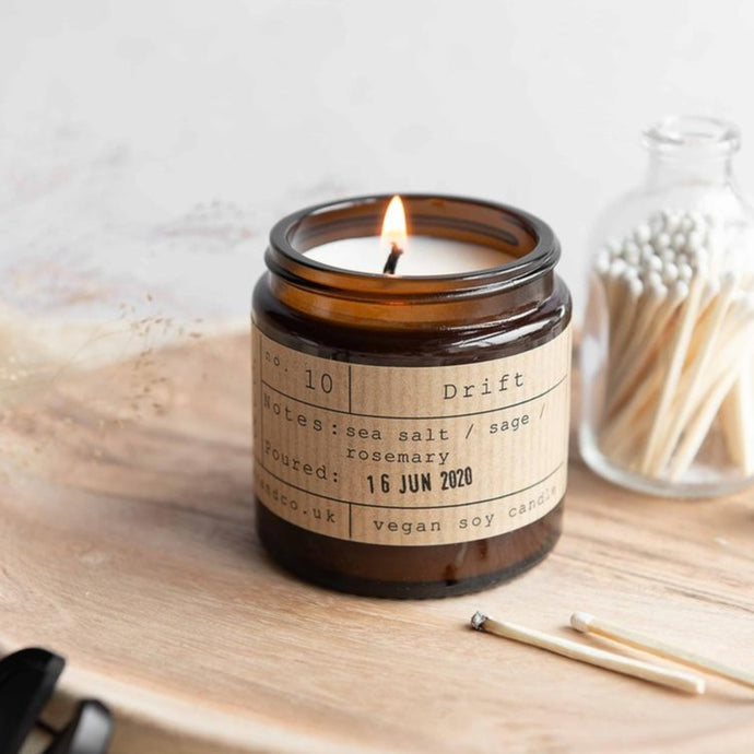 Drift Soy Wax Candle - 20h - Life Before Plastik