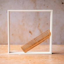 Load image into Gallery viewer, Wooden Short Hair Comb - Life Before Plastik