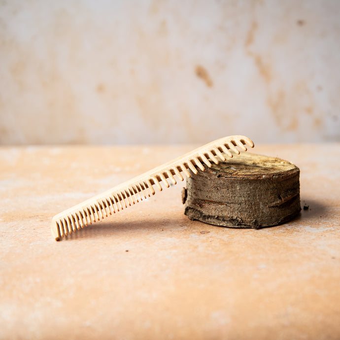 Wooden Short Hair Comb