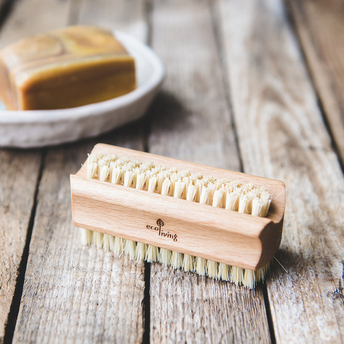 Natural Nail Brush - Life Before Plastik