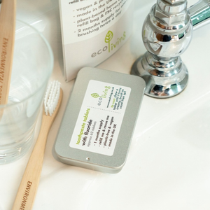 Eco Living Toothpaste tablets WITH FLUORIDE