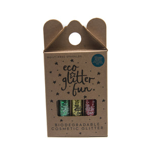Biodegradable Eco Glitter - 3 Pack