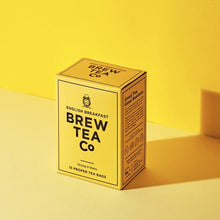 Load image into Gallery viewer, Brew Tea Co English Breakfast Proper Tea Bags - Life Before Plastik