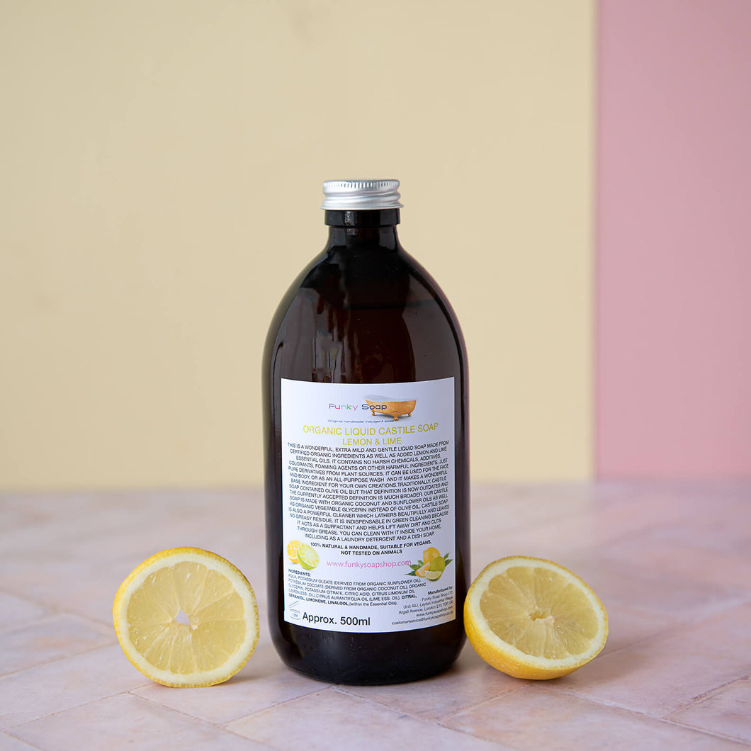 Castile Soap - Lemon & Lime - Life Before Plastik