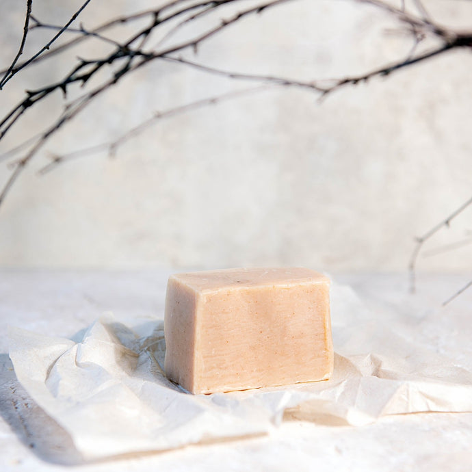 Oatmilk & Argan Oil Shampoo Bar - Life Before Plastik