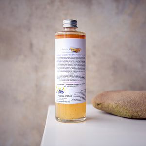 Vinegar Rinse For Dry/Normal Hair - Life Before Plastik