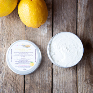 Cocoa Butter And Lemon Hand Cream - Life Before Plastik