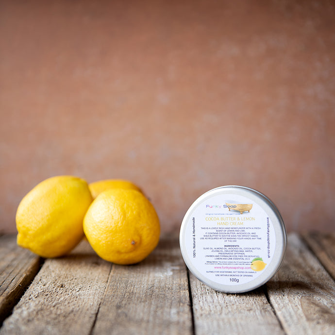 Cocoa Butter And Lemon Hand Cream