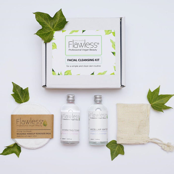 Facial Cleansing Kit - Flawless Skincare - Life Before Plastik