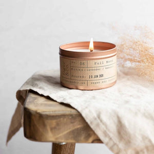 Full Moon Soy Wax Candle - 35h - Life Before Plastik