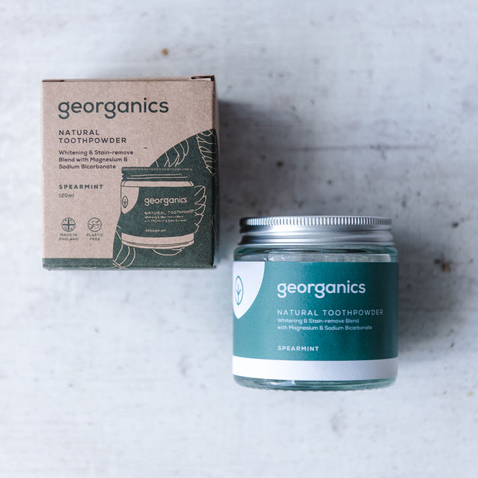 Spearmint Natural Toothpowder (120ml) - Life Before Plastik