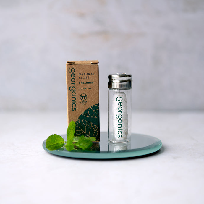 Natural Silk Dental Floss - Spearmint - Life Before Plastik