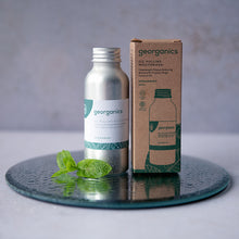 Load image into Gallery viewer, Spearmint Oil Pulling Mouthwash - Life Before Plastik