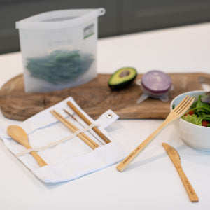 Green Island Ultimate Bamboo Cutlery Set - Life Before Plastik