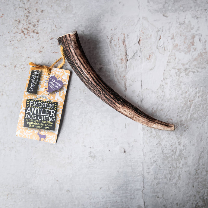 Sustainable Antler Dog Chew - Small - Life Before Plastik