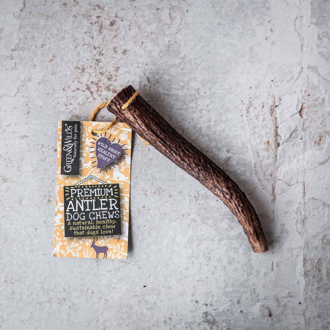 Sustainable Antler Dog Chew - Medium - Life Before Plastik