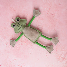 Load image into Gallery viewer, Green & Wilds Francois Le Frog - Dog Toy - Life Before Plastik