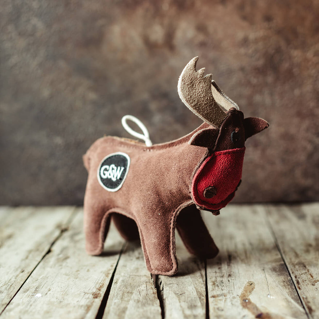 Rudy the Reindeer - Dog Toy - Life Before Plastik