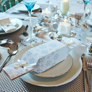 Keep This Cracker Reusable Christmas Crackers - Frosty White - Life Before Plastik