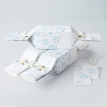 Load image into Gallery viewer, Keep This Cracker Reusable Christmas Crackers - Frosty White - Life Before Plastik