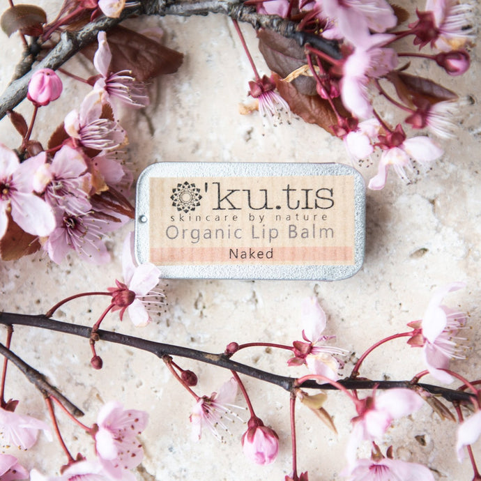 Organic Lip Balm - Naked (Unscented)