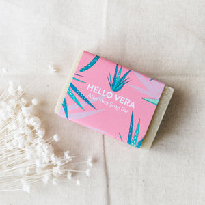 Life Before Plastik 'Hello Vera' Aloe Vera Soap Bar