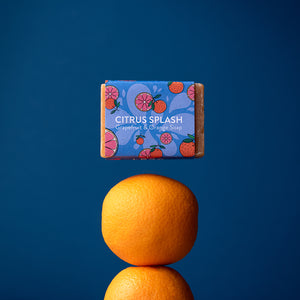 Grapefruit & Orange Soap Bar - Life Before Plastik