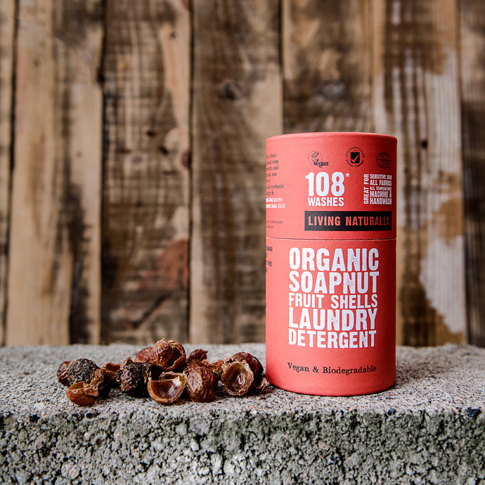 Organic Soapnuts (225g / 108 washes) - Life Before Plastik