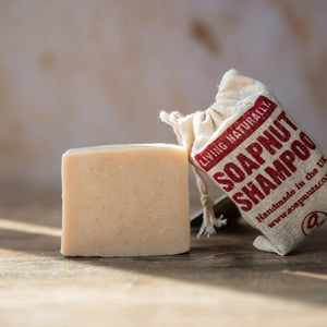 Hemp & Patchouli Soapnut Shampoo Bar - Life Before Plastik