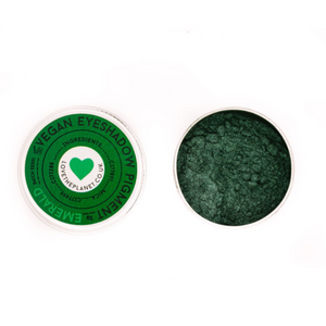 Love The Planet Mineral Eyeshadow - Emerald - Life Before Plastik